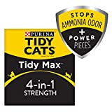 Purina Tidy Cats Clumping Cat Litter - Tidy Max 4 in 1 Strength Multi Cat Litter - 38 lb. Box
