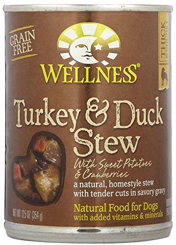 Wellness Turkey & Duck Stew with Sweet Potatoes - 12x12.5oz by Wellness Natural Pet Food