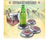 Spinning Hat Bottle Cap Coasters