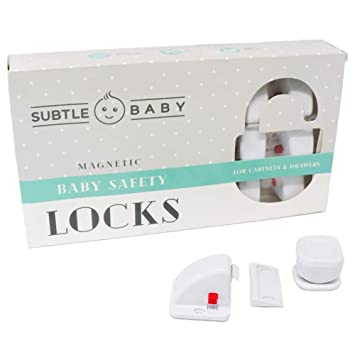 Kids Children Safety Cupboard Locks Magnetic Adhesive Lock Drawer Supplies Tools