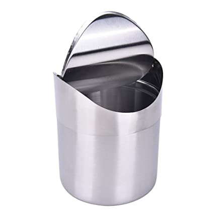 Amazoncom Hofumix Desktop Garbage Can Countertop Trash Can Mini