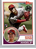 2018 Topps Update and Highlights Baseball Series 1983 Topps 35th #83-2 Shohei Ohtani Los Angeles Angels Rookie RC Official MLB Trading Card