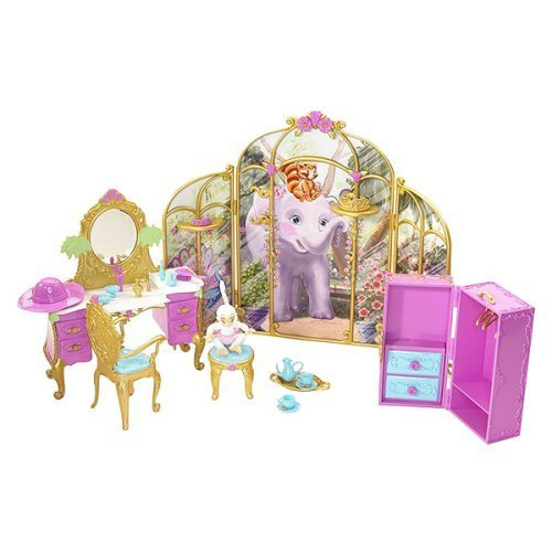 Barbie As The Island Princess Getting Ready With Tallulah Playset -