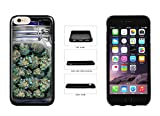 iphone 6 mason jar case - Clear Weed Mason Jar TPU Rubber SILICONE Phone Case Back Cover For Apple iPhone 6 Plus iPhone 6s Plus (5.5 Inches Screen) comes with Security Tag and MyPhone Designs(TM) Cleaning Cloth