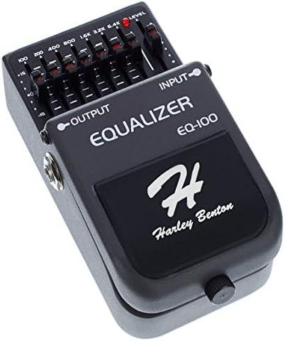 Ecualizador a pedal para guitarra Harley Benton EQ-100: Amazon.es ...