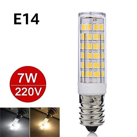 Mini lámpara E14 LED 5W 7W 220V Bombillas LED Luz Maíz Bombilla SMD2835 Lámpara de cristal