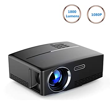 Proyectores Proyector 1800Ansi Lumen Full HD 1920 x 1080P LED LCD ...