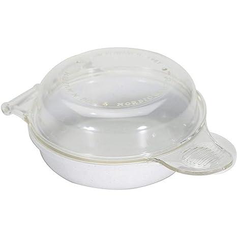 Amazon.com: Nordic Ware - Sartén para microondas con diseño ...