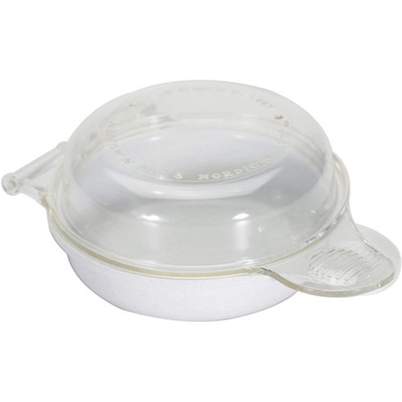 Nordic Ware Microwave Eggs 'n Muffin Breakfast Pan (Colors May Vary) (2 PACK)