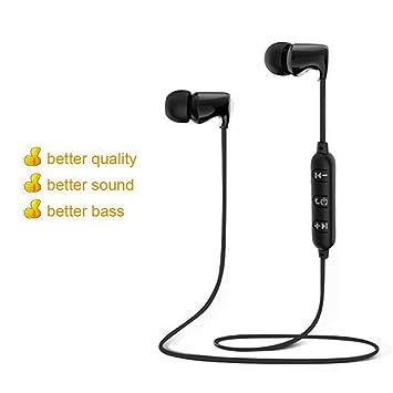 DUHOULI Auriculares Inalámbricos Bluetooth Deporte HiFi A Prueba De Agua Super Bass Auriculares Estéreo Auriculares Magnéticos