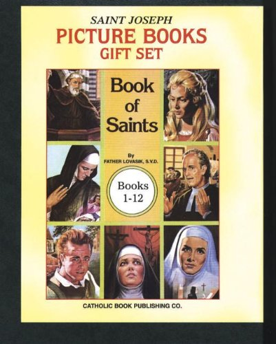 Book of Saints Gift Set (Books 1-12) (St Joseph Picture Book Series)