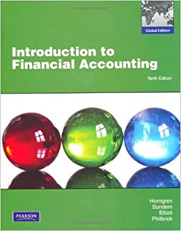 Ebooks Introduction To Financial Accounting: Global Edition Descargar PDF