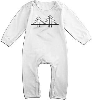 deseweke Steel Pilgrimage Florida Newborn Baby Girl Clothes Long Sleeve Infant Cotton Bodysuits Onesies
