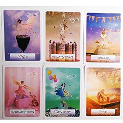 Juego de cartas Oracle Cards, juego de mesa en inglés Archangel ...