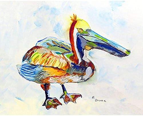 Betsy Drake DM983A Heathcliff Pelican A Doormat, 18 x 26