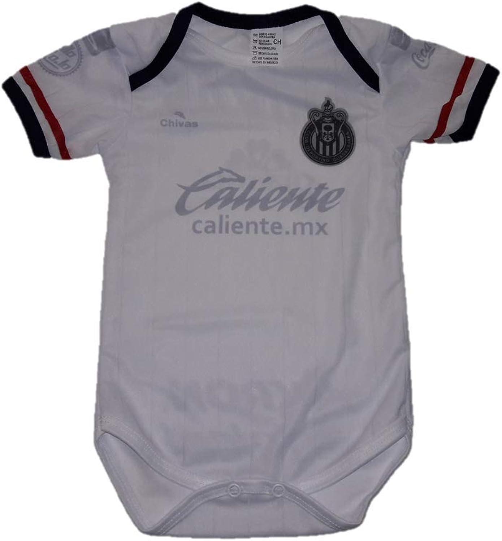 Soccer Chivas Del Guadalajara Third Away Baby Jersey Baby Jumpsuit Bodysuit Futbol Liga MX
