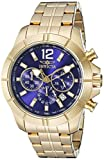 Invicta Men's 21465 Specialty Analog Display Japanese Quartz Gold Watch