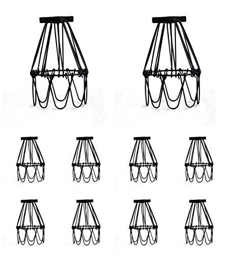 Metal Flower Pendant Light in US - 6