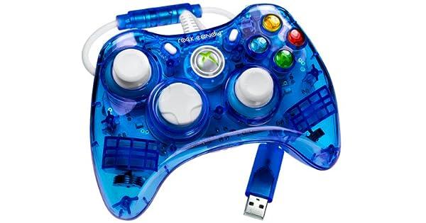 PDP - Mando Con Cable Rock Candy, Color Azul (Xbox 360): Amazon.es ...