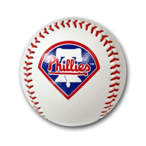 MLB Philadelphia Phillies Baseball with Team Logo (Rawlings Team Logo Baseball)