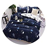 Dream-catching Fashion Printed Dotted Dotted Bedding Quality Family Adult Children's Simple Style Black White Four Bedding Set Plaid Bed 25,style24,Twin XL 4pcs,Flat Bed Sheet