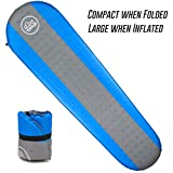 Best Self-Inflating Sleeping Pad. Lightweight, Insulated, Compact & Water Resistant Camping Mat. Thickest Self-inflating Camping Pad, for Camping, Backpacking & Hiking. R Value of 4.9
