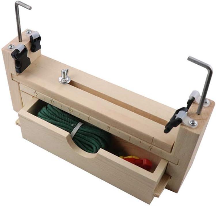 Kit de Fabrication de Bracelet en Paracorde R/églable Jig Bracelet Maker Kit de Outil /À Tricot M/étier /À Tisser Tisseur de Bricolage pour DIY Corde Parachute Paracorde Bracelet