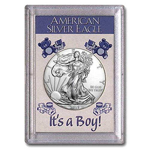 2017-silver-eagle-in-its-a-boy-holder-dollar-uncirculated-us-mint