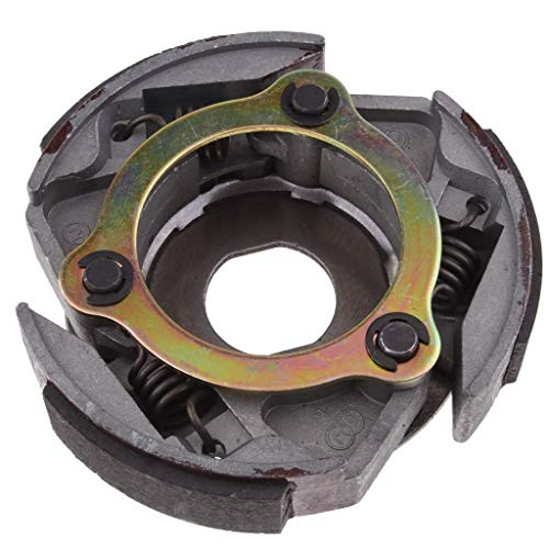 Tubayia Motorcycle Clutch Block Clutch Disc for 2 Hub 47CC 49CC Mini Quad ATV: