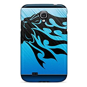 Galaxy S4 Cover Case - Eco-friendly Packaging(tribal Lion)