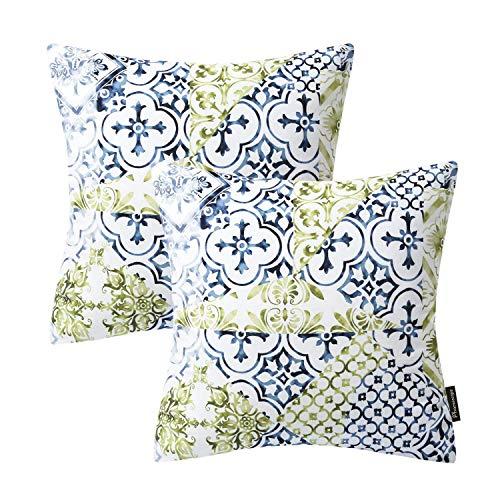 Home Decor Cotton Linen Pillow Case Sofa Waist Throw Cushion
