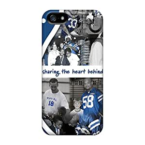For Iphone 5/5s Premium Tpu Case Cover Indianapolis Colts Protective Case