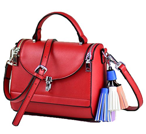 Bolsos De Mujer Korean Crossbody Bags Women's Tote Bags Rojo