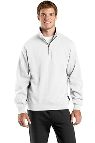 a12f747a Amazon.com: Sport-Tek F253 1/4-Zip Sweatshirt: Clothing