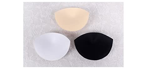 Woop 3/pares transpirable y sudor absorber Push Up Bra Pads inserciones de mejora para deportes de ba/ño bikini parte superior Yoga Top
