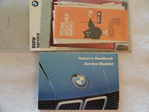 1985 bmw 318i 325e owners manual 318 i and 325 e amazon com books rh amazon com bmw 318ti owners manual bmw 318ti owners manual