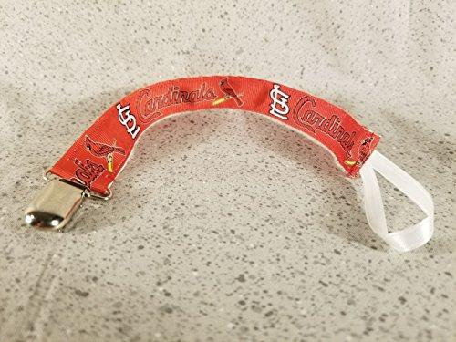 St. Louis Cardinals Pacifier Clip