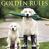 img - for Golden Rules 2018 Calendar: Virtues of the Canine Character book / textbook / text book