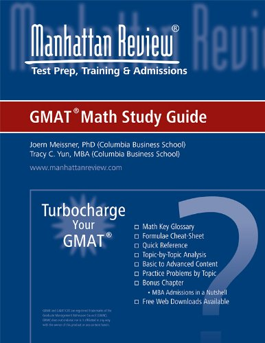 Manhattan Elite Prep Turbocharge Your GMAT: Math Study Guide