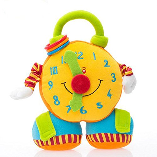 Price comparison product image Alarm clock stuffed and plush toys rattle toys back with safe mirror by meistore 2015