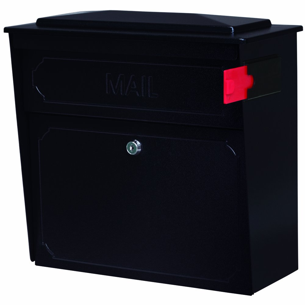 Mail Boss 7172 Townhouse Locking Wall Mount Mailbox