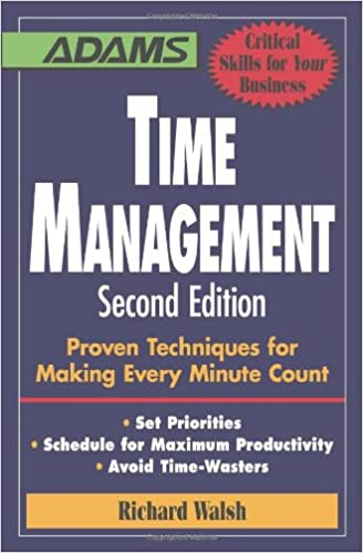 Image result for time management by richard walsh