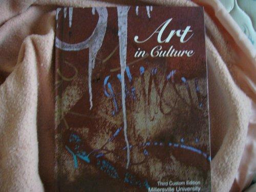 Art in Culture Third Custom Edition Millersville University