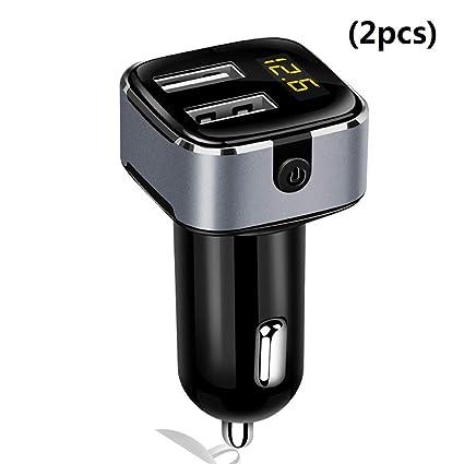 Zyx Cargador para Coche USB - Divisor para Adaptador De ...