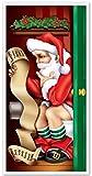 Best Beistle Of The Doors - Beistle 1-Pack Santa Restroom Door Cover, 30-Inch Review