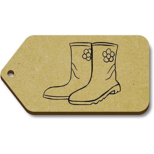 Tag Azeeda regalo 'Wellington 34mm tg00004962 bagaglio 66mm boots' X 10 xrwAqgE0Yr