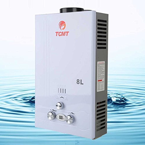 2GPM Tankless 8L On Demand Boiler Instant Hot Water Heater LPG Gas Bath House (Propane On Demand Heater compare prices)