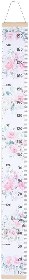 YOUTHINK Baby Growth Chart Kids Playroom Decor Cute Cartoon Wall Handing Ruler Wall Height Measure Growth Chart Home Room Decoration Child Toy (5)
