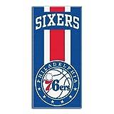 Northwest NBA Philadelphia 76ers Beach Towel, 30 X 60 Inches