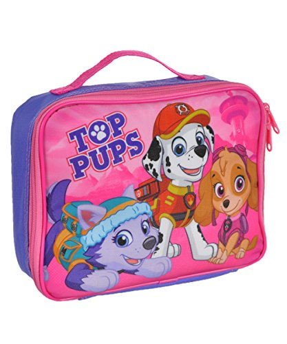 (Paw Patrol Soft Lunch Box (Top Pups Purple))